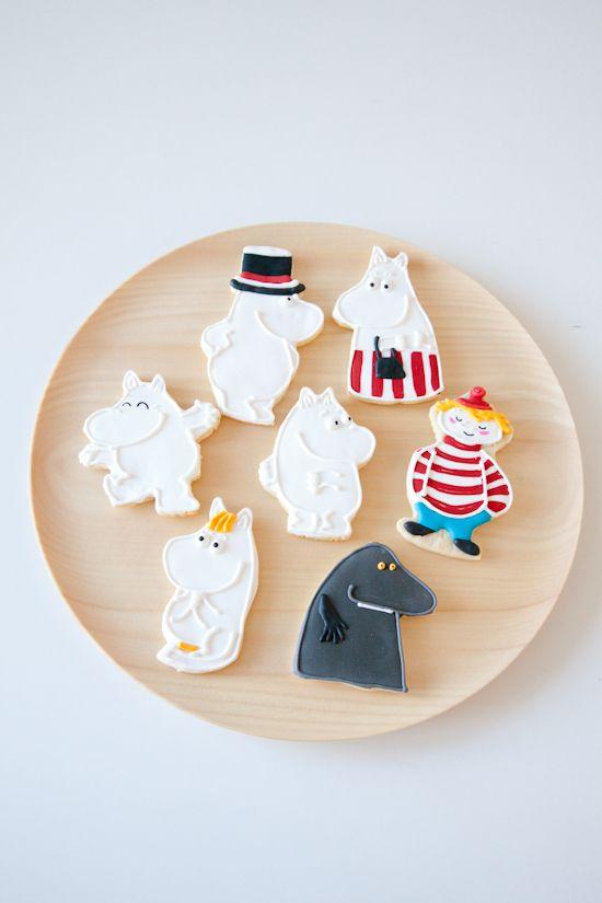 Moomin cookies !!!!