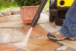rodzaje usług kamieniarskich czyszczenie kamienia