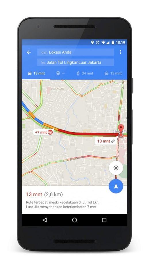 """KIBLAT.NET, Jakarta – Google Maps saat ini telah resmi meluncurkan feature terbarunya yaitu mencari jalan alternatif untuk menghindari kemacetan. Selain itu, di feature terbarunya ini juga membantu untuk mengidentifikasi kemacetan yang lebih rinci. Feature terbaru ini diharapkan bisa sedikit membantu mengurangi kemacetan seperti yang terjadi di kota-kota besar, diantaranya Jakarta. """"Kami berharap fitur terbaru ini …"""
