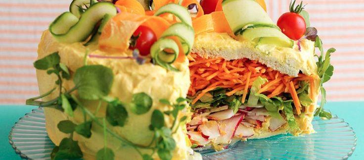 Asda Good Living | Salad Cake