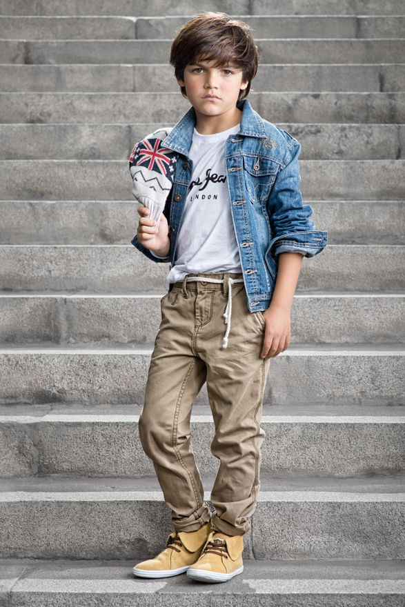 Campaña Mundo Kids / Polo Pepe Jeans - Casaca Pepe Jeans - Pantalón Pepe Jeans