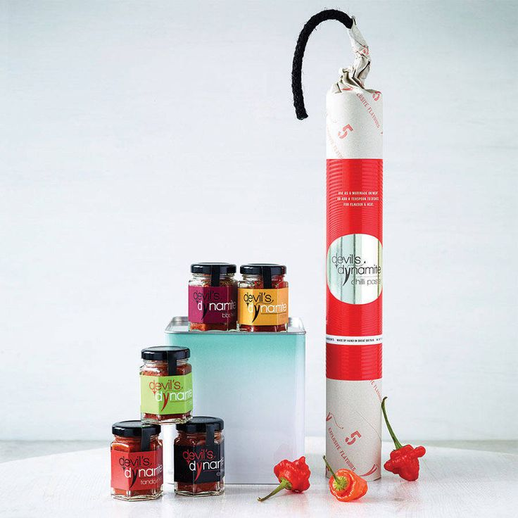 Dynamite Chilli Paste Gift Pack from notonthehighstreet.com