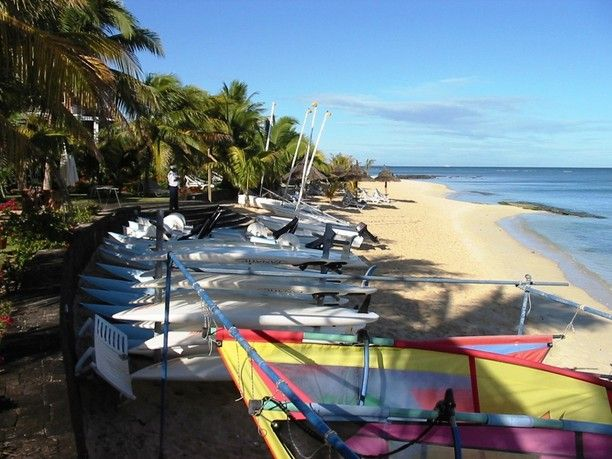 Le Victoria Hotel, Pointe aux Biches, Mauritius — by The Whites Blog. Water sports at the hotel.