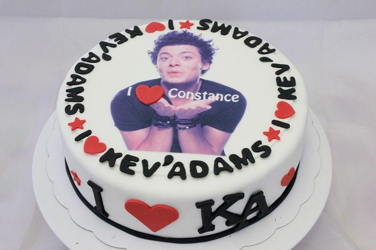 cake kev'adams by christel kiki