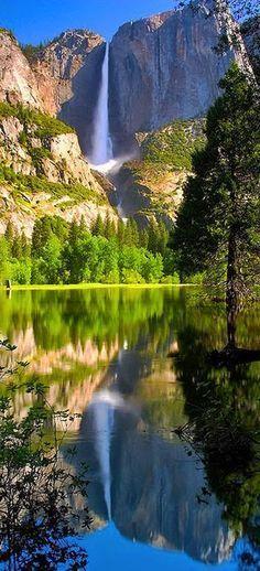 Waterfall, Yosemite National Park, California, USA