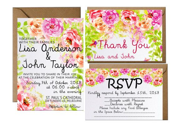 Hey, I found this really awesome Etsy listing at https://www.etsy.com/listing/461322252/wedding-invitation-printable-floral