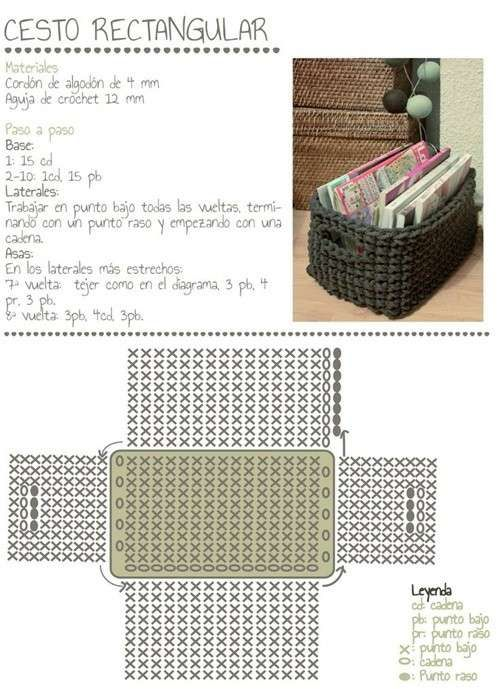 73 best Manualidades con trampillo images on Pinterest | Patrones de ...