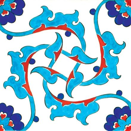 Iznik Traditional Tiles T008