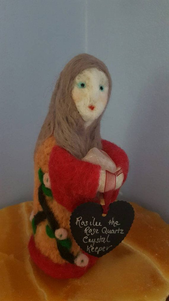 Hey, I found this really awesome Etsy listing at https://www.etsy.com/uk/listing/279377936/crystal-keeper-needle-felted-art-doll