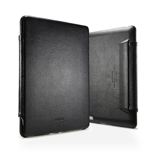 SPIGEN SGP iPad 2/The new iPad Leather Case Argos Black