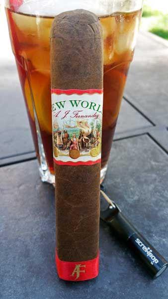 Cigar Review: New World Virrey From A.J. Fernandez Cigars.