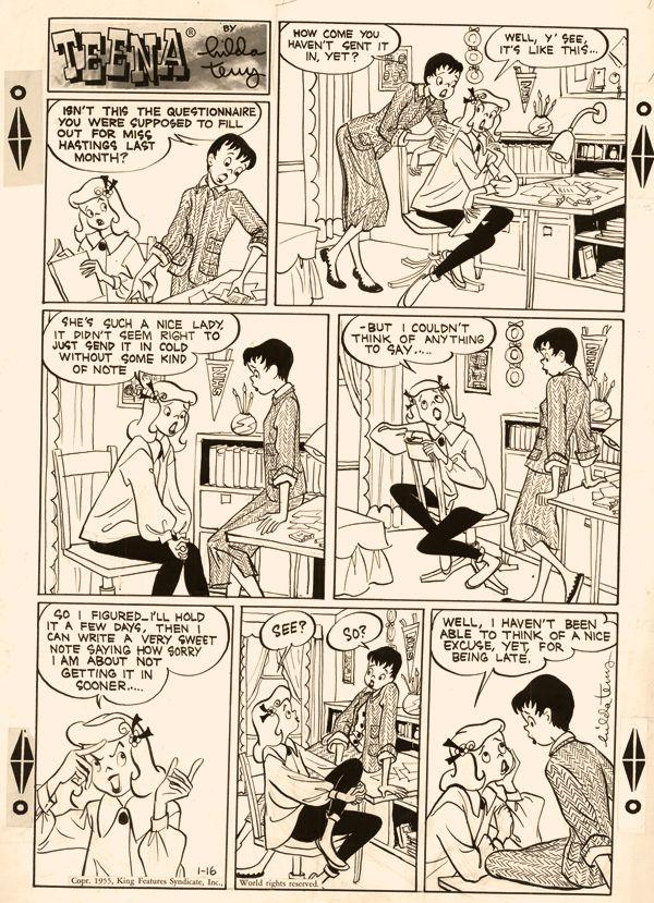 Teena by Hilda Terry, 1955