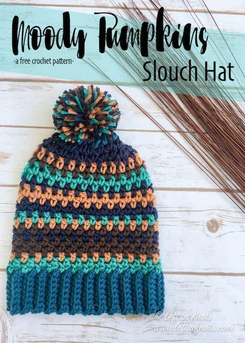 Crochet Moody Pumpkins Slouch Hat - Free Pattern | Cre8tion Crochet ...