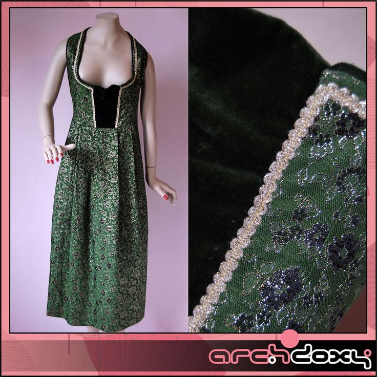 Derhy vintage country maxi dress