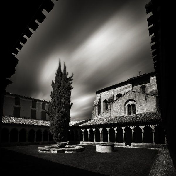 """ALAIN ETCHEPARE Study No. 49 from """"Cathares. In the Memory of Stones.""""  St. Hilaire Abbey, France, 2008."""