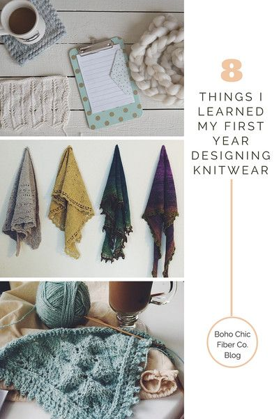 8 Things I Learned My First Year Designing Knitwear – Boho Chic Fiber Co.