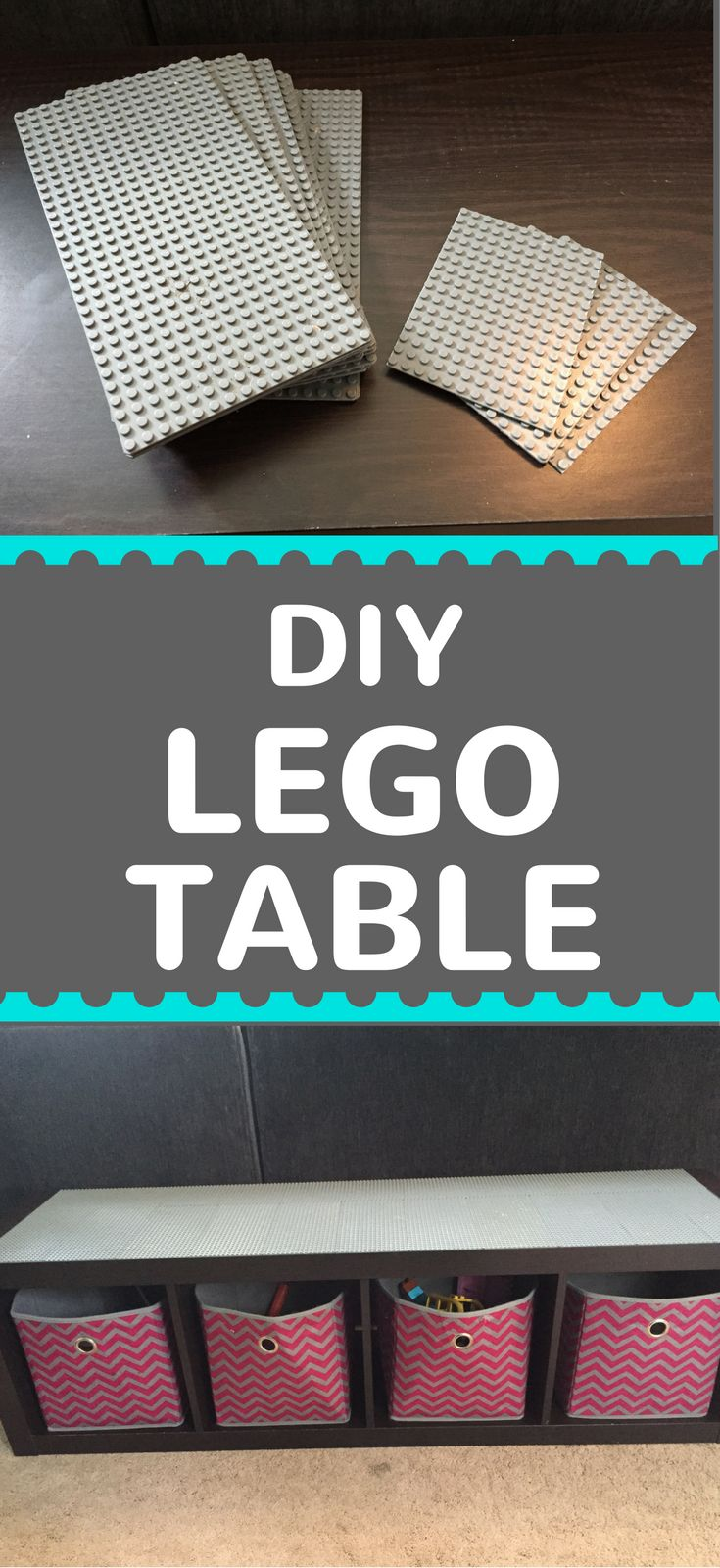Learn how to build a simple DIY LEGO Table in under 1 hour!