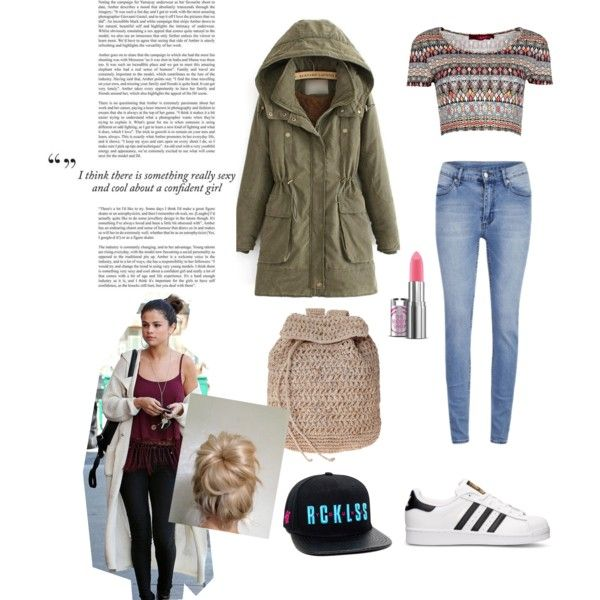 Untitled #5 by elidarahajeng on Polyvore featuring polyvore fashion style Boohoo JVL Cheap Monday adidas Scoop