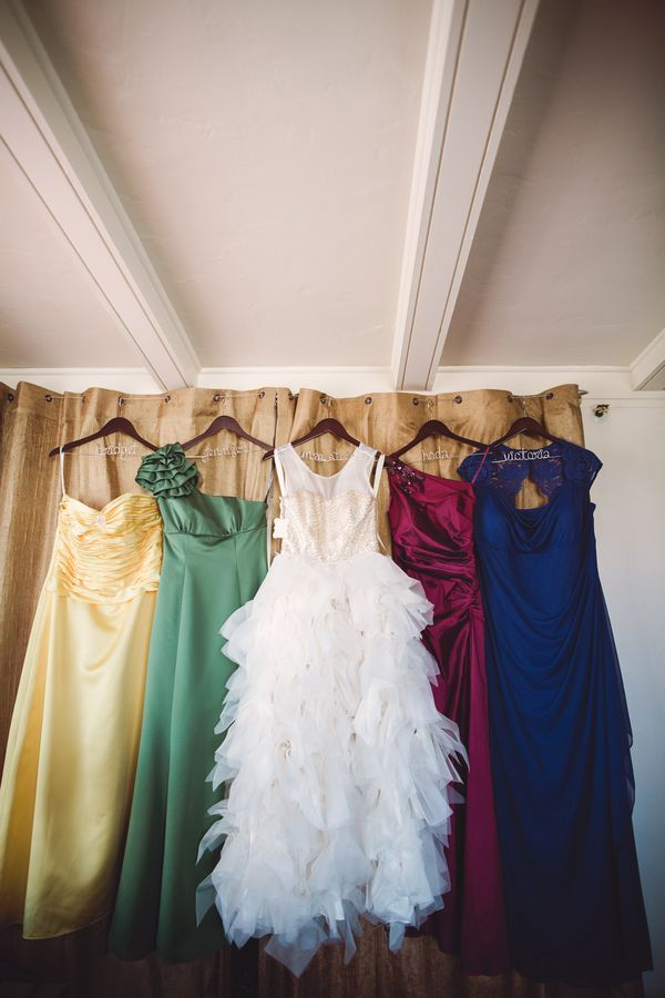 These bridesmaid dresses would make a gorgeous touch to any Harry Potter wedding.