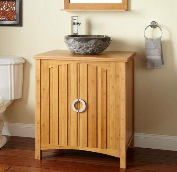 Web Photo Gallery super great vanity cabinet made of bamboo