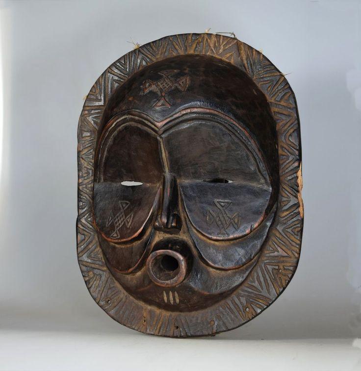 Makishi Sachihongo Mask - MBUNDA - Zambia, Kabulamena Village, NW Province