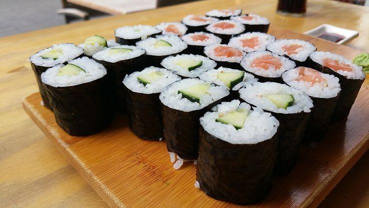 Sushi, Večeře, Jídlo, Tabulka