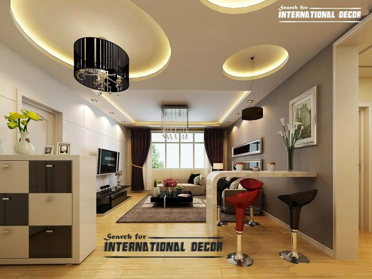 15 Modern Pop False Ceiling Designs Ideas 2015 For Living Room | Decor |  Pinterest | Pop Design, Modern Interiors And Ceilings