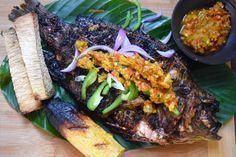 Nigerian Barbecue Fish Recipe