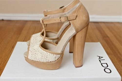 by ALDO ^_^Fashion, Wood, Lace Heels, Aldo Shoes, Summer Shoes, Weights Loss Secret, High Heels, Summer Clothing, Songs Quotes