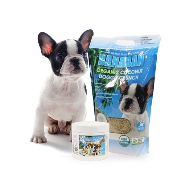 Banaban Organic Doggie Crunch is an ideal addition to any dog's daily diet and provides them with much needed fibre, iron, calcium and trace minerals as well as all the health and coat benefits that come from consuming the medium chain fats found in Virgin Coconut Oil.