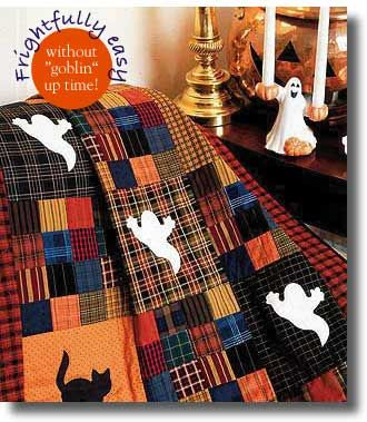 (Ghoulies Ghosties Free Quilt Pattern) This site has FREE McCall's patterns for