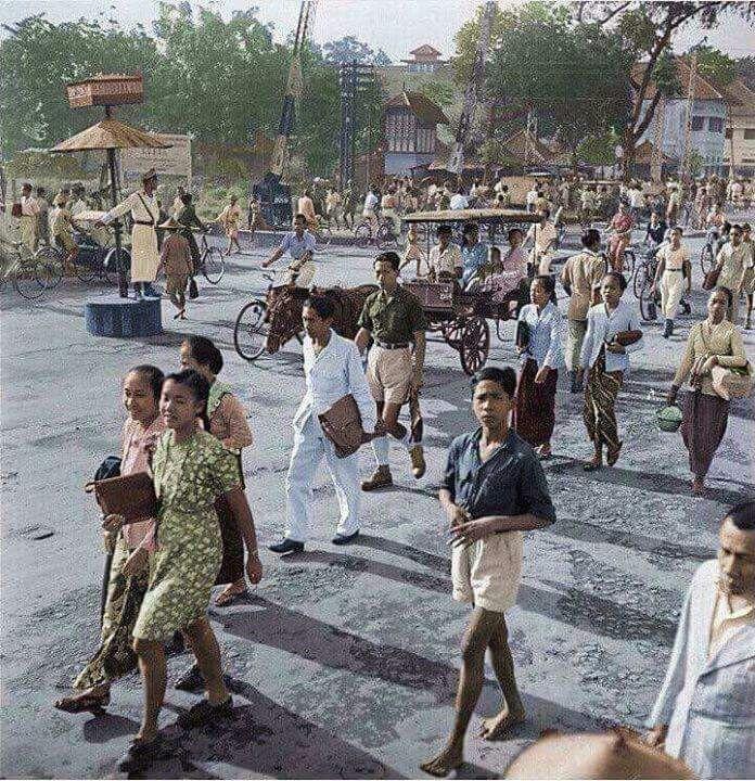 Teteg, palang pintu KA...Tugu, 1948 (Jogyakarta)