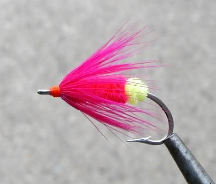 Green Butt Pink Salmon and Steelhead Fly
