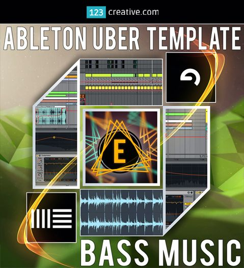 ► Uber Template Bass Music - ABLETON LIVE TEMPLATE + BASS MUSIC SAMPLE PACK - creativity / inspiration template. All samples are provided in standard *.WAV format so you can use these sounds in any DAW. EDM, Dubstep, Future Bass, Chillstep, Deep Dubstep. http://www.123creative.com/electronic-music-production-daw-templates/1414-uber-template-bass-music-ableton-live-template-bass-music-sample-pack.html
