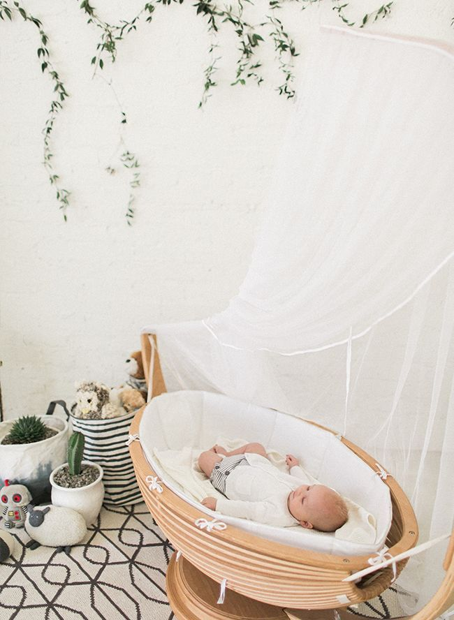 Simple And Organic Nursery Inspired By This