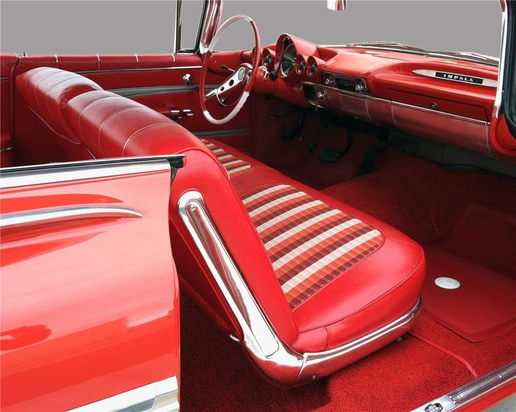 1959 Chevrolet Impala I Love Bench Seats Because I Can