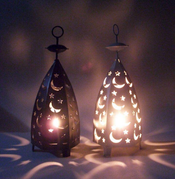 Мода металлические фонари декоративные птичьи клетки свадебные подсвечники украшения дома звездные и луна подсвечники купить на AliExpress