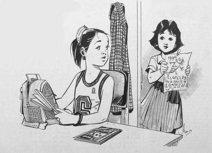 Mansyur Daman- Ilustrator majalah Bobo favorit saya.