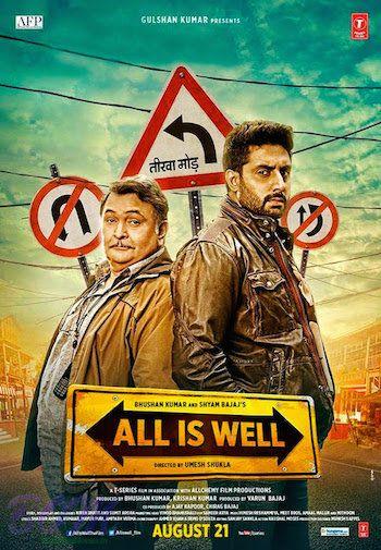All Is Well (2015) Hindi Movie pDVDRip 300MB Download Rishi Kapoor, Abhishek Bachchan