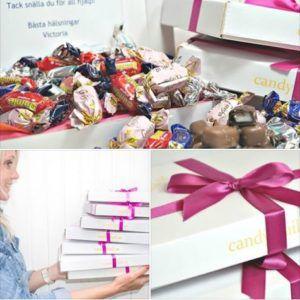 Skicka Candymail - godisfylld present