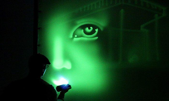 Na výstavě Světlo a život můžete malovat světlem