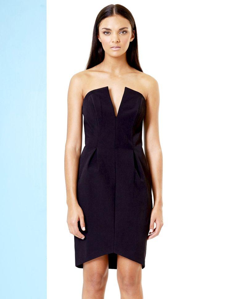 RUMOUR HAS IT DRESS by Talulah. Perfect little black dress. Find it on www.shoptrawl.com