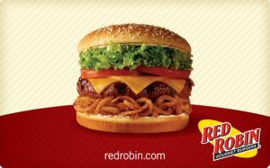 Get a FREE Red Robin Tavern Double Burger and fries on Tuesdays after Seahawks games if the Seahawks score at least one touchdown in the Red Zone. You can get this for FREE with purchase of a burger, entree or entree salad and two beverages.