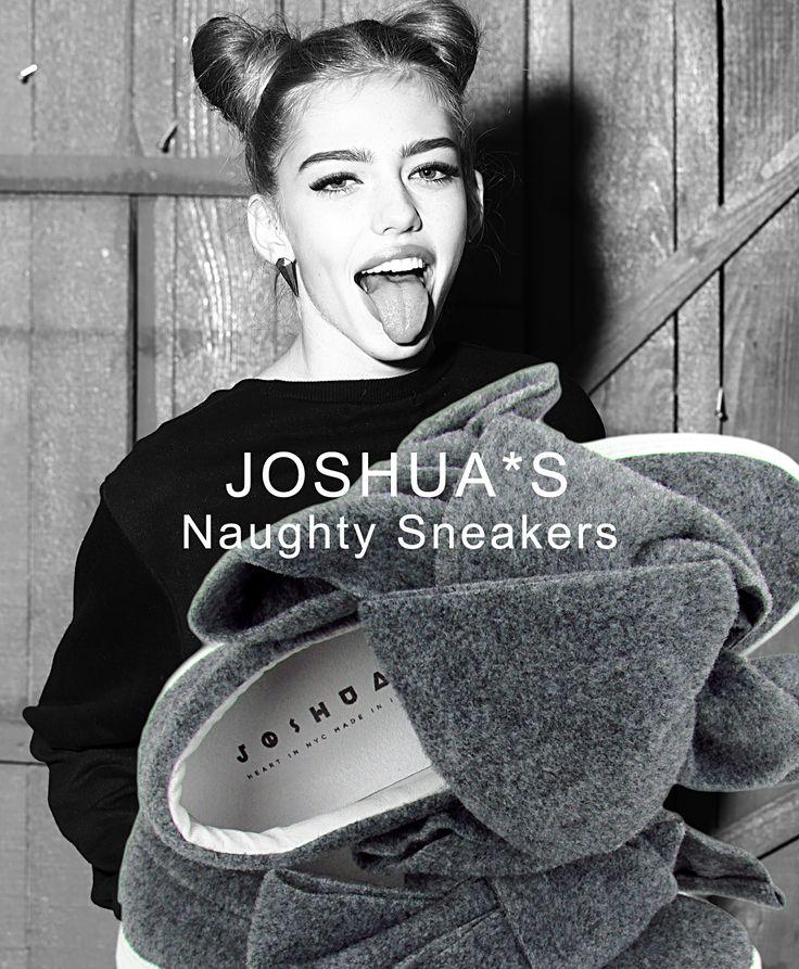 JOSHUA*S. Naughty Sneakers.  Boutique Montorsi. via Emilia Centro 87 a Modena. 059 211321.  #JoshuaSanders #Sneakers #WomenShoes #Boutiquemontorsi #Montorsimodena #Modena #Italy