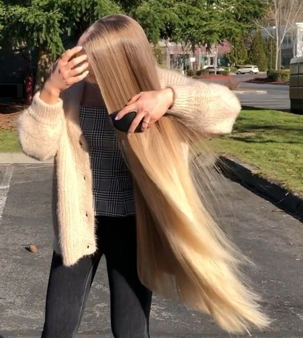 Video Sunlit Blonde Hair With Images Long Blonde Hair