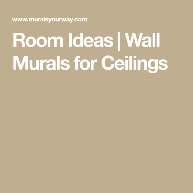 Best 25+ Ceiling murals ideas on Pinterest   Invisible ...