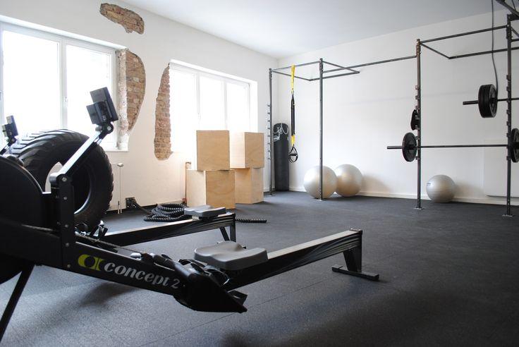 Fitnessstudio Köln, Einrichtung, Interior, Industrial chic, Loft