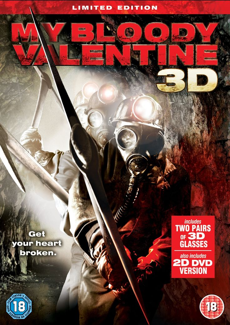 My Bloody Valentine 3D (Limited Edition) [DVD]: Amazon.co.uk: Tom Atkins, Kevin Tighe, Edi Gathegi, Patrick Lussier, Jensen Ackles, Betsy Rue, Jaime King, Kerr Smith: DVD & Blu-ray