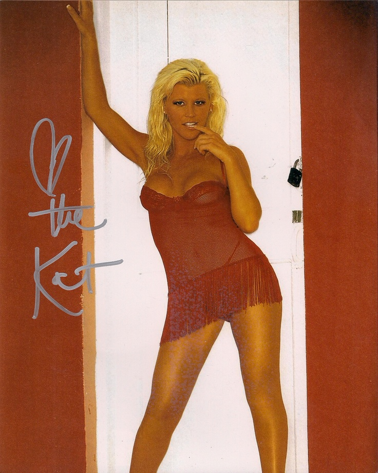 WWE's The Kat aka Stacy Carter which I bought TTM | Autographs I ...