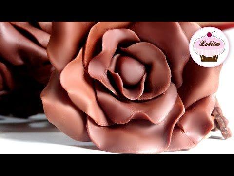 Cómo hacer Chocolate Moldeable paso a paso | Trucos para Fondant por Azúcar con Amor - YouTube